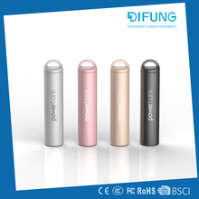 2017 Factory promotional items cheap price factory supply rechargeable power bank 2600mah With Bottom Price