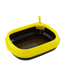 Excellent Quality Plastic Cat Toilet Covered Cat Litter Pan