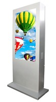 water proof outdoor network digital signage hd advertising player