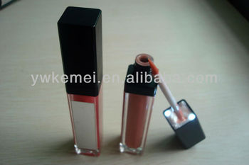 lighted lip gloss with mirror