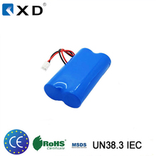 KXD 7.4v 1800mah 2200mah 18650 Lithium Ion Battery Pack