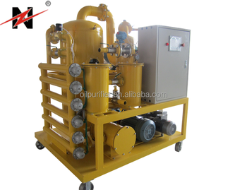 Series ZYD Double-stage High Vacuum Transformer Oil Purification System/Insulation Oil treatment/Dielectric oil recycling