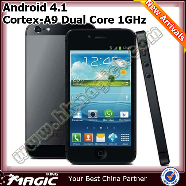 New dual core mtk6577 android 4.1.1 gps IPS smart phone