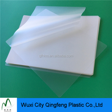 Heat Seal A4 Size Plastic Construction 5mil Gloss Laminating Pouches Films