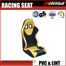 Car adjustable racing seat simulator