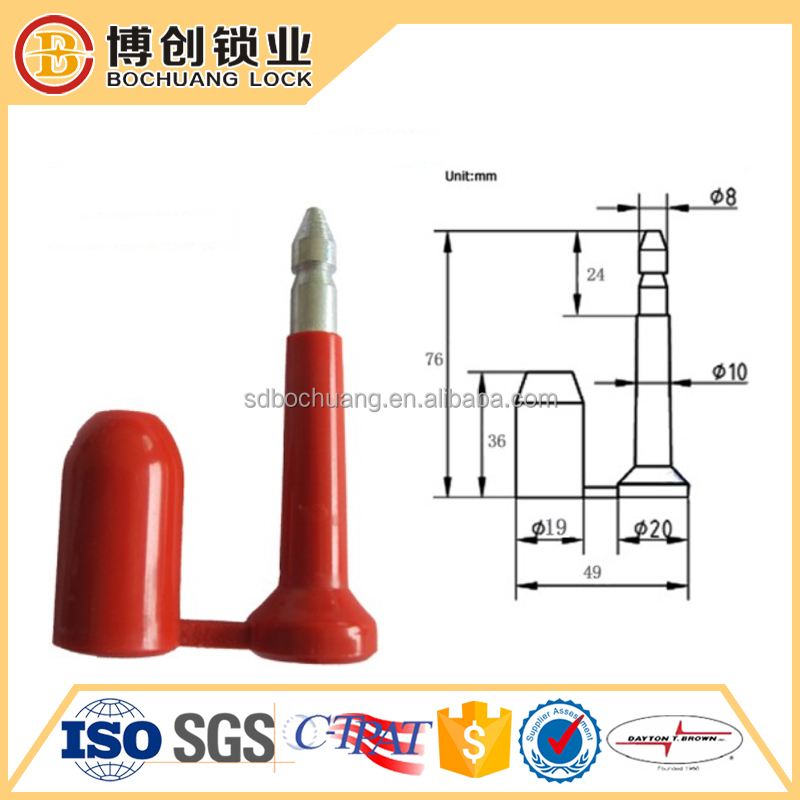 Made in china Cargo Container Locks/Bolt Seal