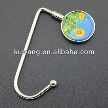 Custom Metal Bag Hanger With Logo