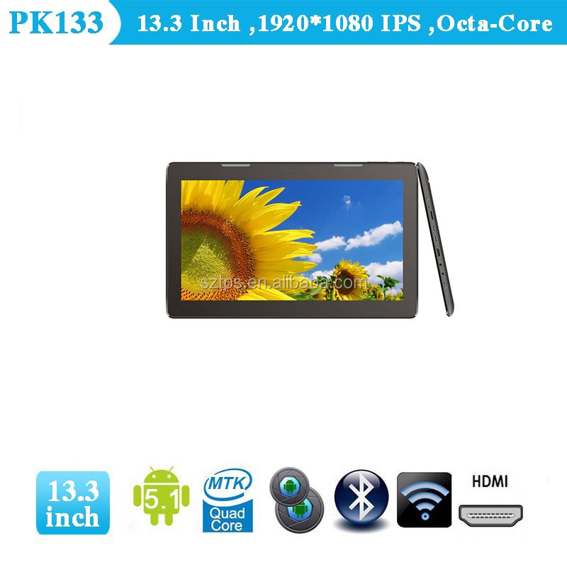 RK3188 Quad Core Tablet 13.3 inch Android 4.2 Tablet HD MI 1G/16G