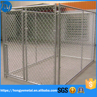 Hot Sale Carriers&Houses Type Chain Link Fence Pet Cage Dog Kennel