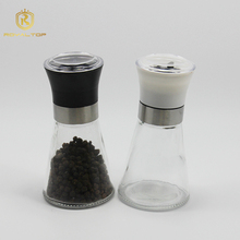 Setting durability mini spice ceramic bottle grinder