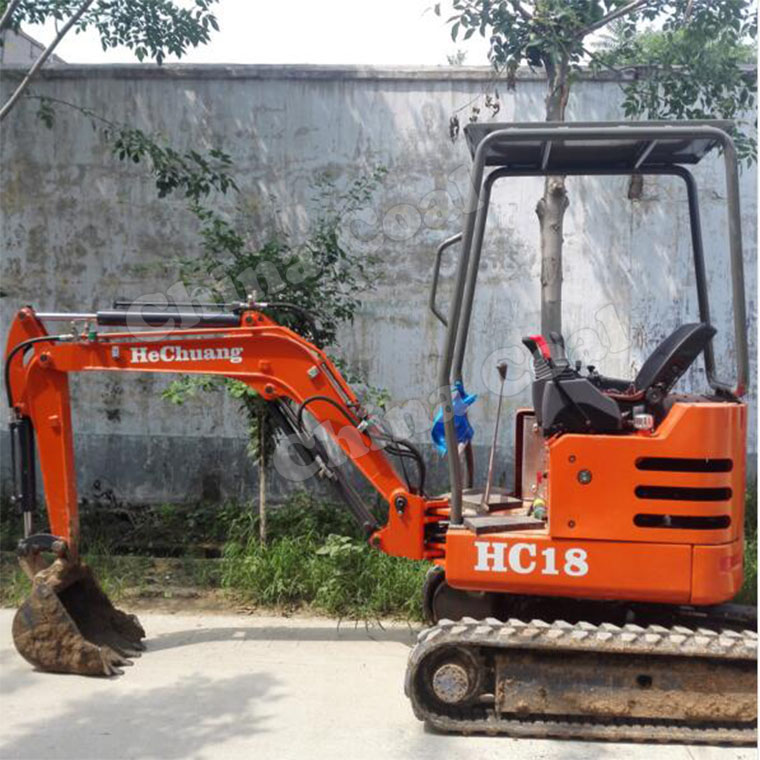 Micro Excavator With Japanese Diesel Engine