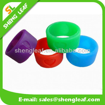 2015 custom silicone ring for promotional gifts