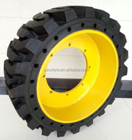 puncture resistant forklift solid tire,high elastic forklift tire 35inch