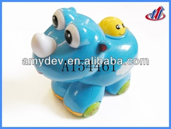 Baby game Rhinoceros Car with music for baby