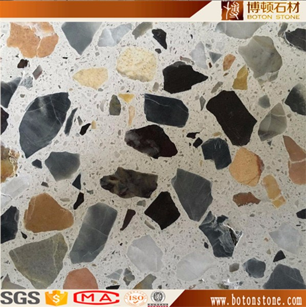 Cement Terrazzo Tiles 1 5-5cm Thick For Flooring - Buy Terrazzo,Terrazzo  Tiles,Terrazzo Flooring Product on Alibaba com