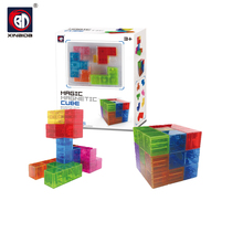 Magic Cube Puzzle 3D Magnet Educational Toys For Kids