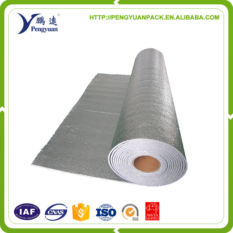 Electrically Conductive foam pipe insulation with aluminium foil