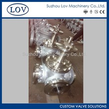 Long Stem Ball Valve Three Way Ball Valve Of L Port T Port