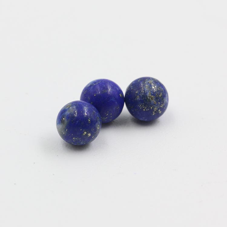 top quality natural round brilliant cut lapis lazuli jewelry beads stone