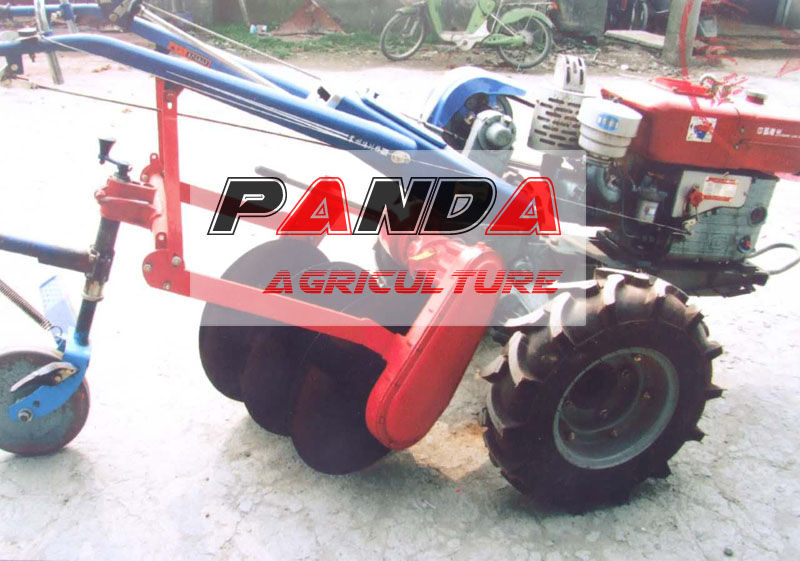 Myanmar market DF walking tractor driven disc plow