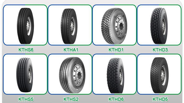Keter Tyre Factory, Radial Truck Tyre 295/80 R22.5
