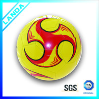 promotional soft PVC machine sititched soccer ball or football