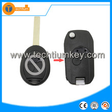 Modified flip remote car key fob shell For BMW car blank key