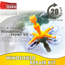 TV shpping windshield repair kit MOQ 96PC carton Amazon hot cake 1