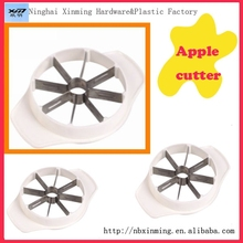 Hotting sell plastic apple cutter for kitchen tool