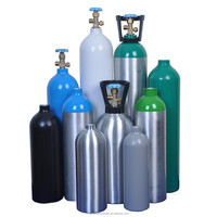 High Pressure Industry CO2 Aluminum Alloy Gas Cylinder