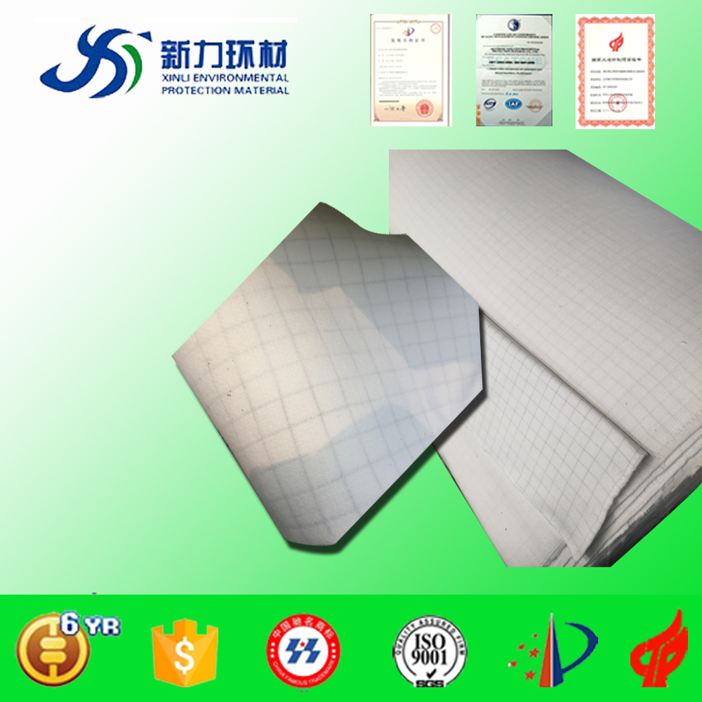 Directly factory supply 85% acrylic 15% polyester fabric for dust filter bag