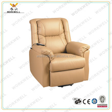 WorkWell confortable vibrator electric lift motor recliner sofa Kw-Fu24
