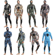 Professional High Quality 3MM Neoprene Waterproof Keep Warm Men Camouflage Diving Surfing Spearfishing Wetsuit