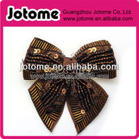 Newest Style Golden Metal Bow Rhinestone