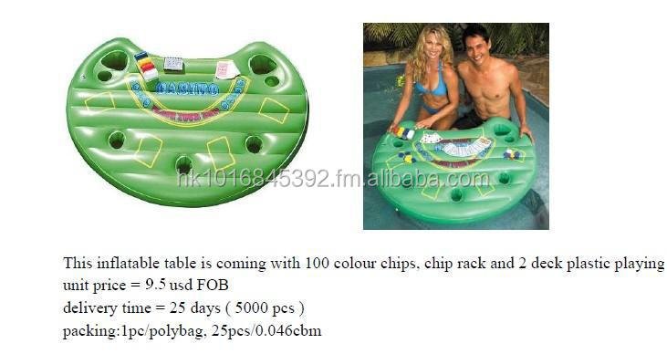 inflatable casino table,inflatable table,inflatable black jack,inflatable poker,inflatable pool table,pool casino,pool poker