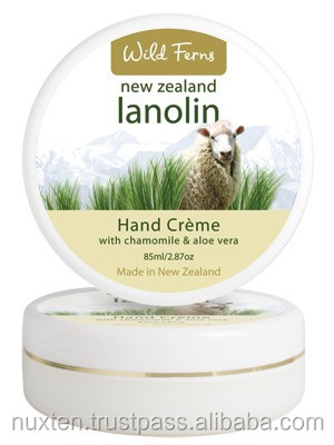 new Zealand skin care_Lanolin Hand Cream with Aloe Vera