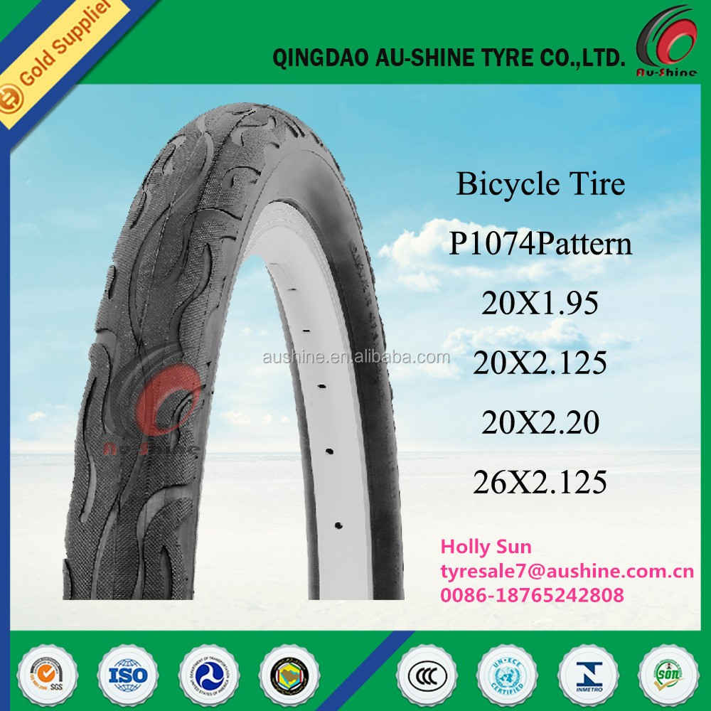 colorful bicycle tire 24x1.95 26x1.95 28x1.75 700x45c 700x38c, Rubber Bicycle Tire 24x2.125 26x2.125