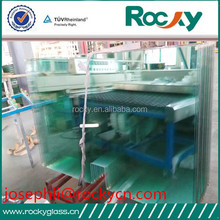 Sell 10mm tempered glass for backboard with CE:EN 12150-2:2004/ISO9001,high quality tempered backboard glass