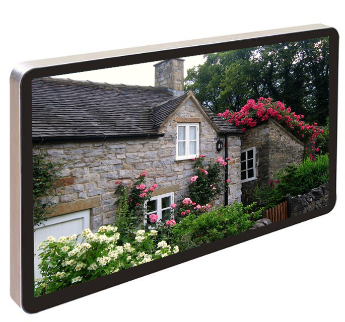 "21.5""Small standalone version LCD monitor for digital signage/kiosk/ad player"