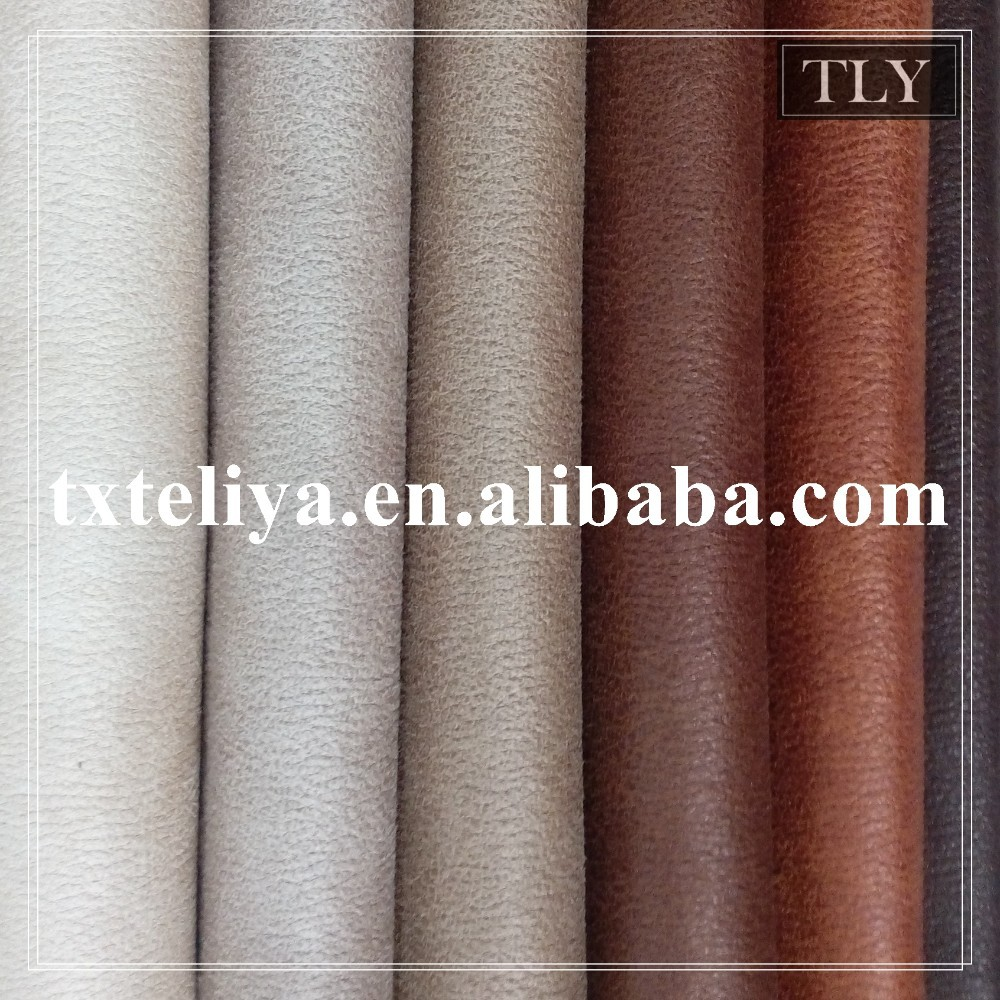 Decorative PU Material synthetic leather for sofa