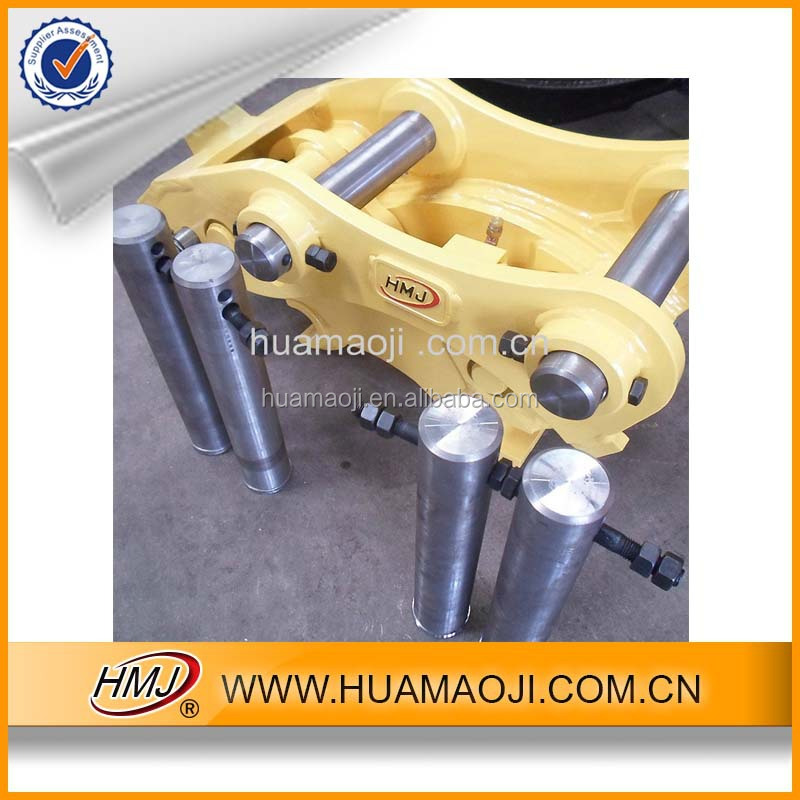 SK230-6E excavator bucket tilt hitch/bucket pin and bushings