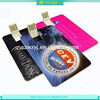 Promotional Custom Logo USB Card,100% Real Capacity 2.0 Credit Card USB, Cheapest Factory Price Flash Business Card USB