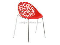 2105 Best Seller outdoor furniture cheap metal plastic chair for garden chair