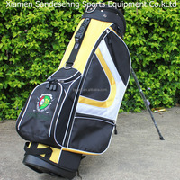 colorful nylon golf stand bag,cheap golf stand bag