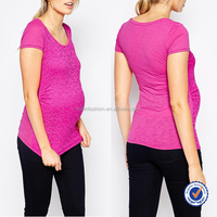 wholesale maternity clothing pregnant women simple elegant blouses in lace