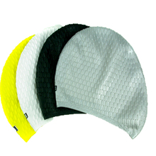 Custom waterdrop swimming cap silicone waterproof hat