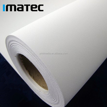 Most Sold 260gsm White Rolled Artist Waterbased Polyester Waterproof Digital Printing Photo Canvas Fabric