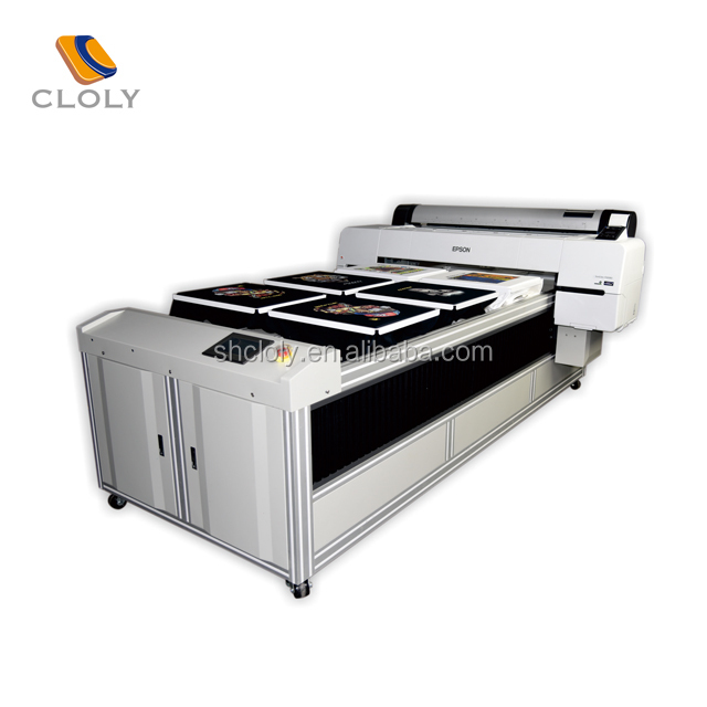 Multistation digital t-shirt printer silk and cotton,customizable to overlength textile tshirt printing machine