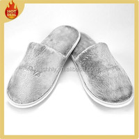 Comfortable indoor disposable hotel bedroom slippers for sale