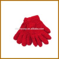 wear cotton glove safety sign